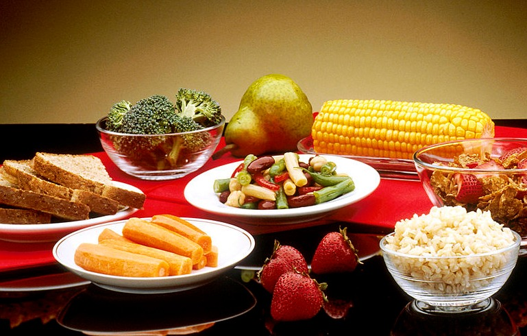File Good Food In Dishes   NCI Visuals Online.jpg   Wikimedia Commons
