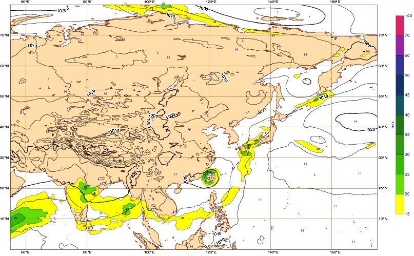 Mean sea level pressure  wind speed at 850 hPa and geopotential 500 hPa  temperature at 850 hPa   ECMWF